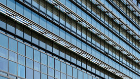 Business Building Windows Abstract. Detail Royalty Free Stock Photo