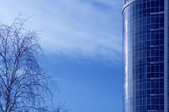 Business buildings Stock Image