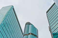 Business Buildings. In Hong Kong, China, Southeast Asia royalty free stock photos