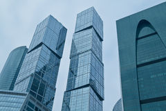 Business buildings Stock Photography