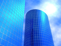Business buildings Royalty Free Stock Images