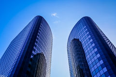 Business Buildings in Auckland Stock Photography