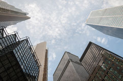 Business buildings Royalty Free Stock Photo