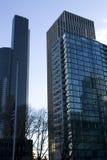 Business buildings downtown stock photos