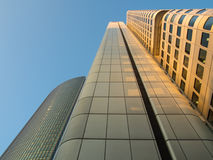 Business buildings in the financial district of Fr Royalty Free Stock Photography