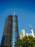 Business buildings  in the financial district of Frankfurt, Germ Royalty Free Stock Image