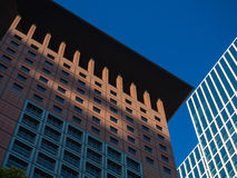 Business buildings  in the financial district of Frankfurt, Germ Stock Images