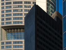 Business buildings in the financial district of Frankfurt, Germ Royalty Free Stock Photography