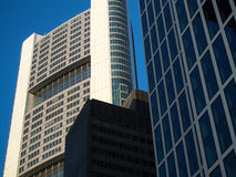 Business buildings  in the financial district of Frankfurt, Germ Stock Photography
