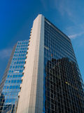Business buildings in the financial district of Frankfurt, Germany Royalty Free Stock Photo