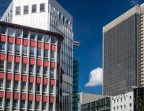 Business buildings in Frankfurt, Germany Stock Photo