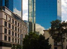 Business buildings in Frankfurt, Germany Royalty Free Stock Image