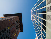 Business buildings in the financial district of Fr Royalty Free Stock Photo