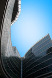 Business buildings. Modern buildings in the Milan Italy Stock Photography