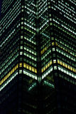 Business buildings at night Stock Photos