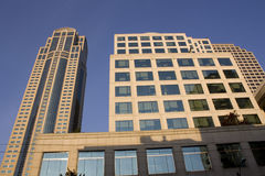 Business buildings, offices stock photography
