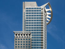 Business building in the financial district of Fra Stock Image