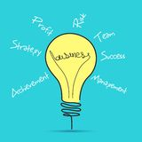 Business Bulb royalty free illustration