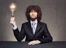 Business bulb Royalty Free Stock Image