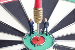 Business Bull's Eye Stock Images