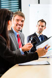 Business - businesspeople have team meeting Stock Photos