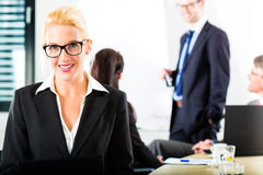 Business - businesspeople have team meeting Stock Photo