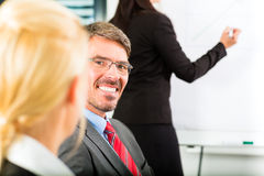 Business - businesspeople have team meeting Stock Image