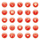Business Buttons Royalty Free Stock Images