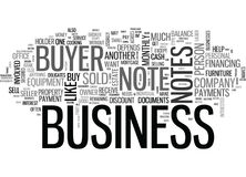 Are Business Buyer Notes Profitableword Cloud Royalty Free Stock Photo