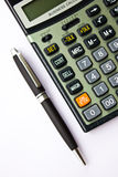 Business Calcucator. Business Calculator on the white background royalty free stock image