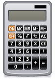 Business calculator Stock Image
