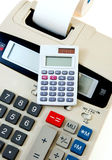 Business Calculator Close-Up Royalty Free Stock Photography