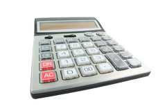 Business calculator isolated Stock Photo