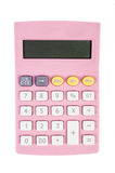 Business Calculator pink Royalty Free Stock Photo