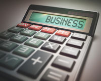 Business Calculator Royalty Free Stock Image