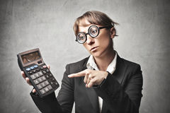 Business Calcutation Stock Photography