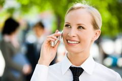 Business Call Royalty Free Stock Images