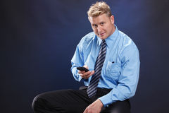Business call Stock Image