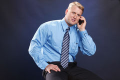 Business call Royalty Free Stock Photography