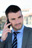 Business call Stock Images