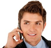 Business call Stock Photo