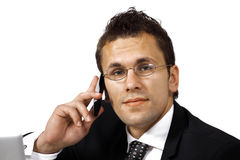 Business call Royalty Free Stock Photos
