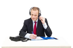 Business call Royalty Free Stock Image
