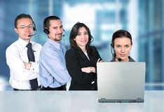 Business call center Royalty Free Stock Images