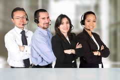 Business call center Stock Photos