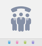 Business Call Group - Granite Icons vector illustration