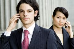 Business Calls stock photo