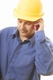 Business calls Stock Photo