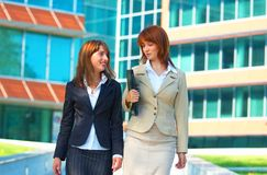 Business campus women Stock Photos