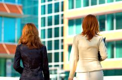 Business campus women Royalty Free Stock Photo